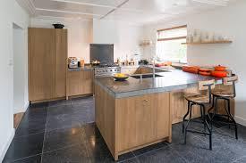 Stoere Landelijke Keuken Met Een Granieten Werkblad Keuken Houtfineer