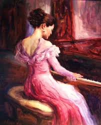 for literary elegance las book club the pianist painting ashlee comerford