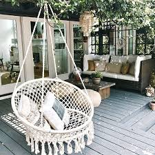 old doors and reclaimed furniture to create these wonderful suspended beds seats and chair swings for either indoor or outdoor use