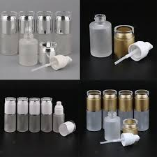 <b>5 Pcs 30ml</b> Empty Pump Bottles Cosmetic Lotion Container Portable ...