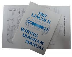 1967 lincoln restoration parts wiring diagram manual mp0254