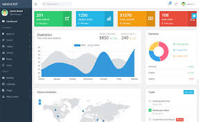 Chart Icon Bootstrap Admincast Free Bootstrap 4 Admin Dashboard Template
