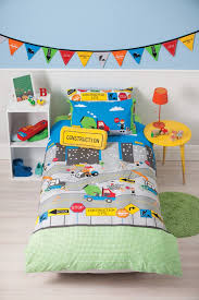 Under Construction Quilt Cover Set - Construction Bedding - Kids ... & Under Construction Quilt Cover Set Adamdwight.com