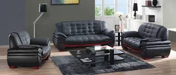 black leather sofa set with 16 photo galleries