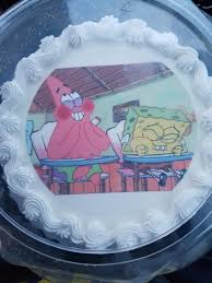 I Turn 25 Today Here Is My Birthday Cake Spongebob