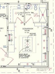 lighting craft room design. scrapbook craft room with lighting and power locations design r
