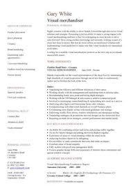 Visual Merchandiser Resume samples VisualCV resume samples database