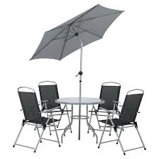 6 piece patio dining set patio dining set black grey 6 pieces jakarta 6 piece patio