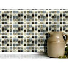self adhesive mosaic tiles self adhesive wall tiles for kitchens and bathrooms stone glass mosaic 4 self adhesive mosaic tiles