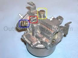 disassembly cleaning and repair of kohler half inch g230500 kohler half inch g230500 carburetor adjusting screws