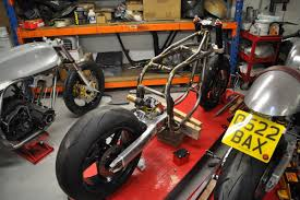 super cafe racer rolling frame kit taimoshan cycle works