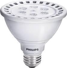philips 423459 13 watt 75 watt airflux par30s led 3000k white flood light bulb dimmable household lamp sets com
