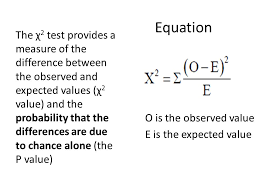 7 equation o is the observed value