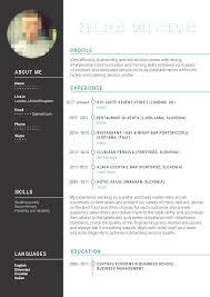 Cv Exemplars Waiter Cv Examples The Database Head Resume Sample Wai0195