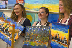 where art and socializing meet paint wine cl in liz pa