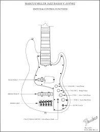 Fender Precision B Wiring Diagram