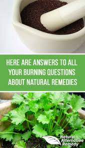 What are natural remedies
