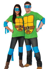 ninja turtles couples costumes. Delighful Ninja Adultu0027s TMNT Leonardo Costume Kit With Ninja Turtles Couples Costumes S