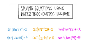 solving equations using inverse