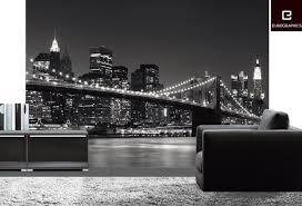 New York Skyline Wallpaper For Bedroom Home Wallpaper New York Skyline Wallpaper For Your Walls