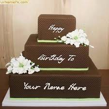 Write Name On Anniversary Cake Birthdaycakeformancf