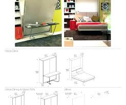 diy wall bed with desk. Plans For Murphy Bed Gallery Thumbnails Horizontal Diy Kit Australia . Wall With Desk O