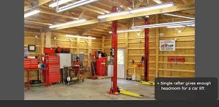 garage interior. Kistler Buildings - Interior Finishes, Drywall, Wainscoting, Flooring, Trim, Molding, Windows, Doors Garage .