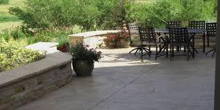 concrete patio design ideas and cost