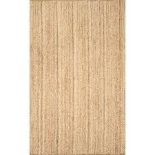 nuloom rigo jute natural 8 ft x 10 ft area rug