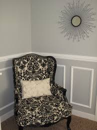 Little Miss Penny Wenny How To Install Chair Rail Moulding - Dining room color ideas with chair rail