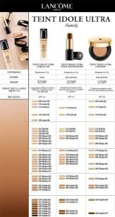 Lancome Absolue Foundation Color Chart Lancome Color Chart 17 Unique Lancome Foundation Color