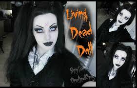 living dead doll make up