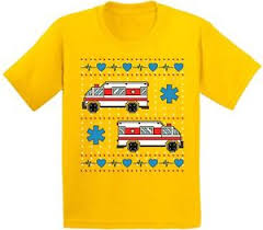 image is loading ambulance truck ugly t shirt for kids