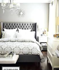 upholstered bed grey. Grey Upholstered Queen Bed
