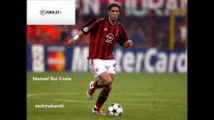 Manuel Rui Costa - FIFA 21 - Look alike - Virtual Pro - Club - YouTube