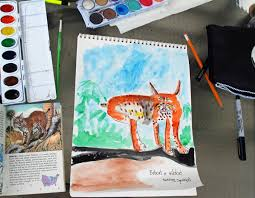 That Artist Woman Art Journals And A Easy Painting Exercise