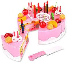 webby al diy birthday cake toy 37 pieces multi color