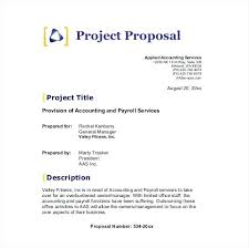 Free Sample Service Proposal Template Word Sample Service Proposal