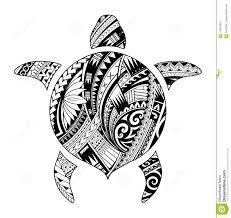 племенная татуировка для аборигенной формы черепахи иллюстрация