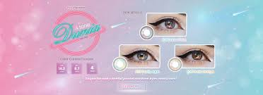 Contact Lenses Colour Chart Shop Colored Contacts Circle Lenses Beauty Pinkyparadise