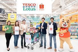 เทสโก้ โลตัส จับมือ Shopee ขยายช่องทางให้บริการบนออนไลน์ทั่วประเทศ