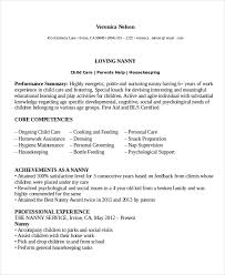 best nanny resumes nanny resume template 5 free word pdf document download free