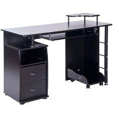 computer desk black computer desk innovex glass computer desk black