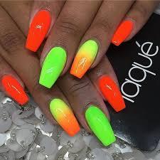 Neonové Letní Nehty