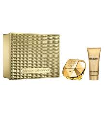 lady million by paco rabanne edp 80ml gift set for women