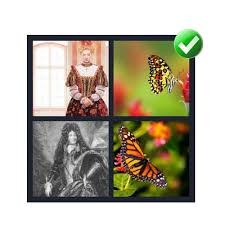 4 pics 1 word 7 letters level 5 Monarch
