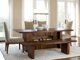 dining room bench with regard to rustic set for plans 10
