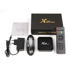 X96 Mini Smart TV BOX Android 7.1 OS 2GB 16GB Amlogic S905W Quad Core  2.4GHz WiFi 4K Set top Set Top Boxes X 96 X96mini tv box|Set-top Boxes
