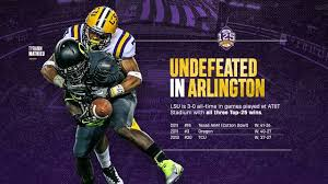 Throwback Thursday Lsus Dominance In Dallas Lsusports