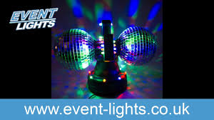 Disco Lights Kmart Led Mirror Ball Lamp With Double Ball Youtube